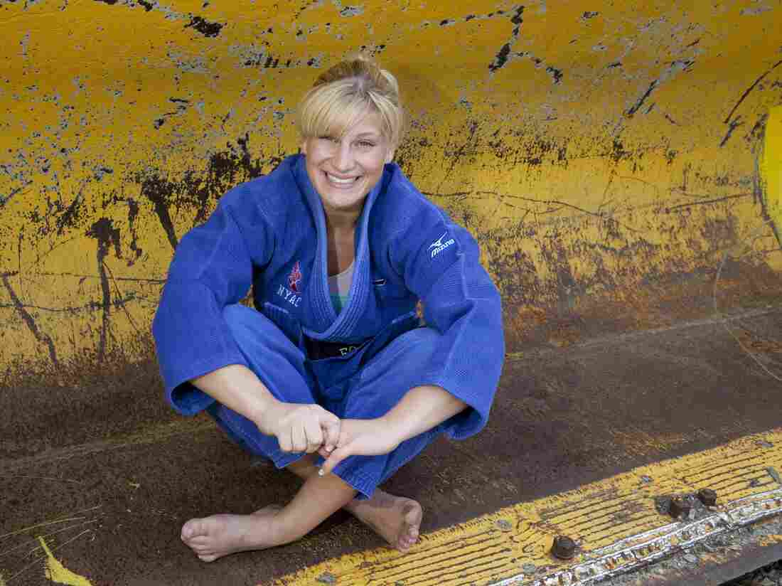 Kayla Harrison, who is on the U.S. judo team, is going to the Olympics for the first time.