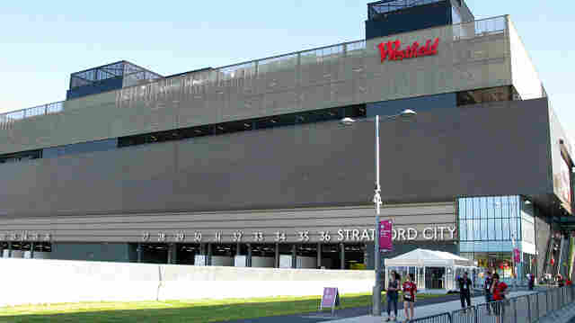 Big, But Not Big On Doors: The Westfield Stratford City Mall is an integral part of the Olympic Park area. But the mall's mammoth size can make it tough to find a way out.