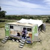 A mobile clinic set up to test students for HIV is parked near Madwaleni High School in Mtubatuba, KwaZulu-Natal, South Africa on March 8, 2011. Parts of the South African province have HIV rates that are more than twice the national average.
