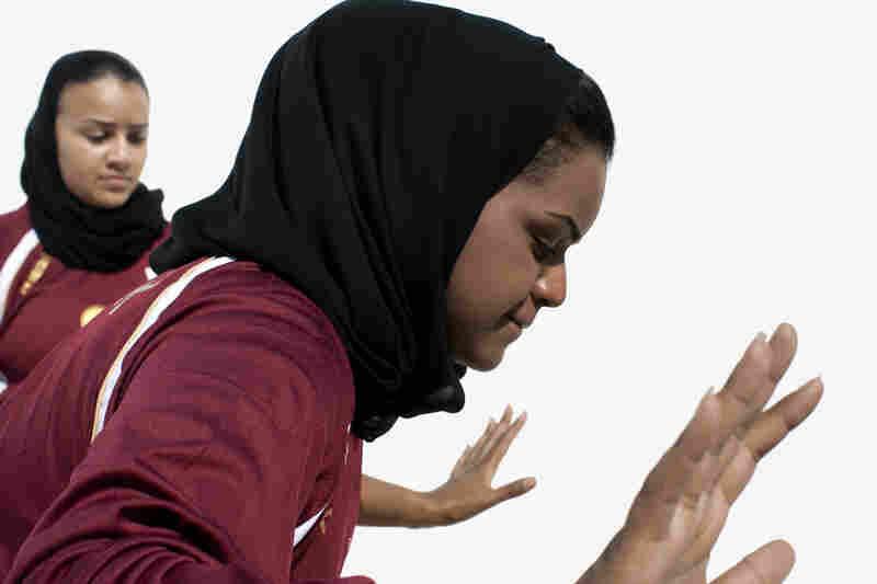 Miriam Al Suwaidi and Fatma Al Suwaidi, handball, Qatar