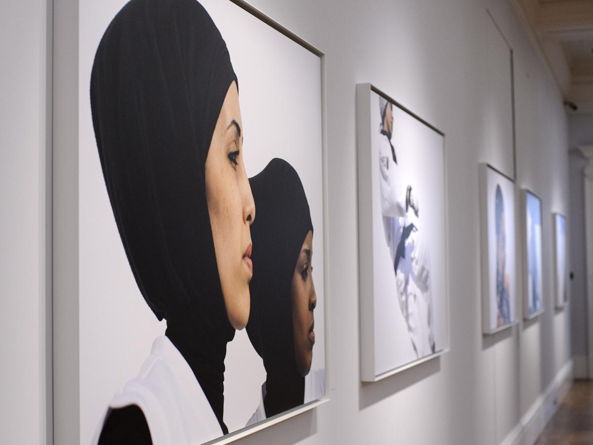 This Somali teen fashion designer goes big with animal