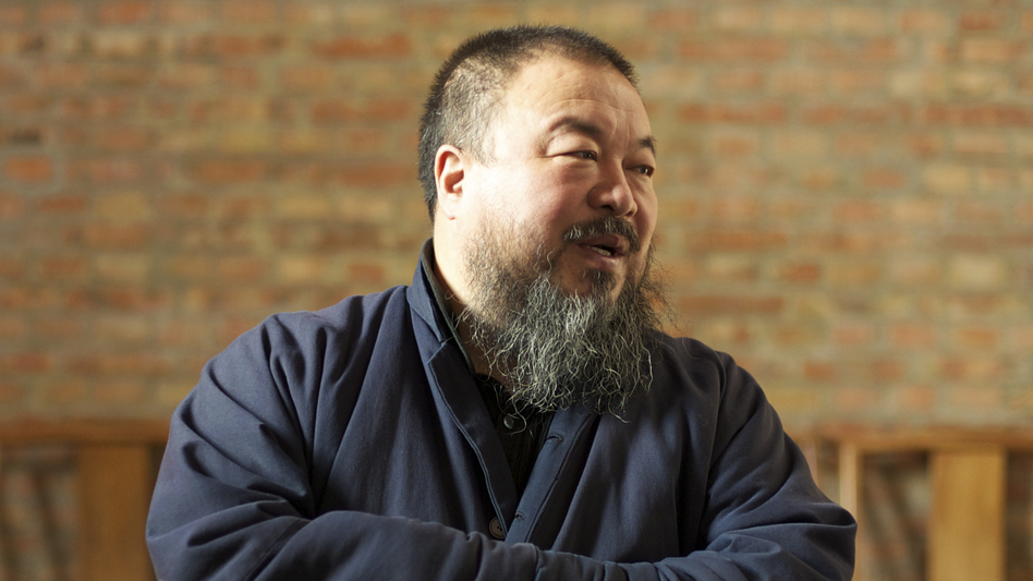 Although Ai Weiwei's art is internationally recognized, much of his worldwide fame comes from his political activism in China. The latter is the focus of Alison Klayman's documentary Ai Weiwei: Never Sorry. (IFC Films)
