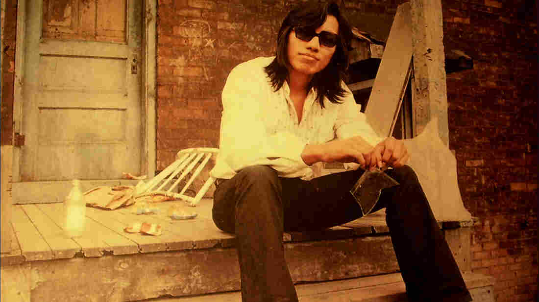 Detroit singer Sixto Rodriguez's sweet voice and socially conscious lyrics made him a legend in apartheid-era South Africa. This photo appears on the cover of his second album, Coming from Reality (1971).