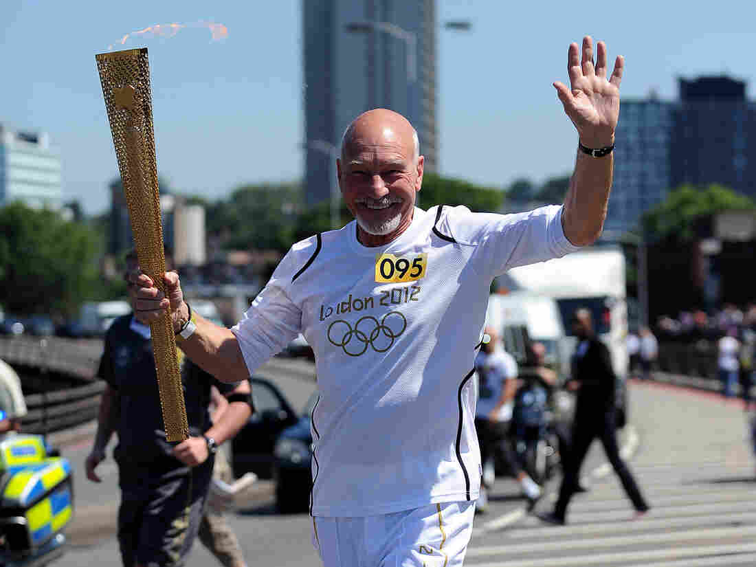 Sir Patrick Stewart: torch bearer, Starfleet Captain, frustrated seamster.