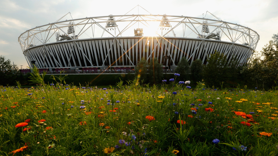 In his new book, Iain Sinclair bemoans what the construction of Olympic Park and the Olympic Stadium has done to his East London neighborhood. (Getty Images)