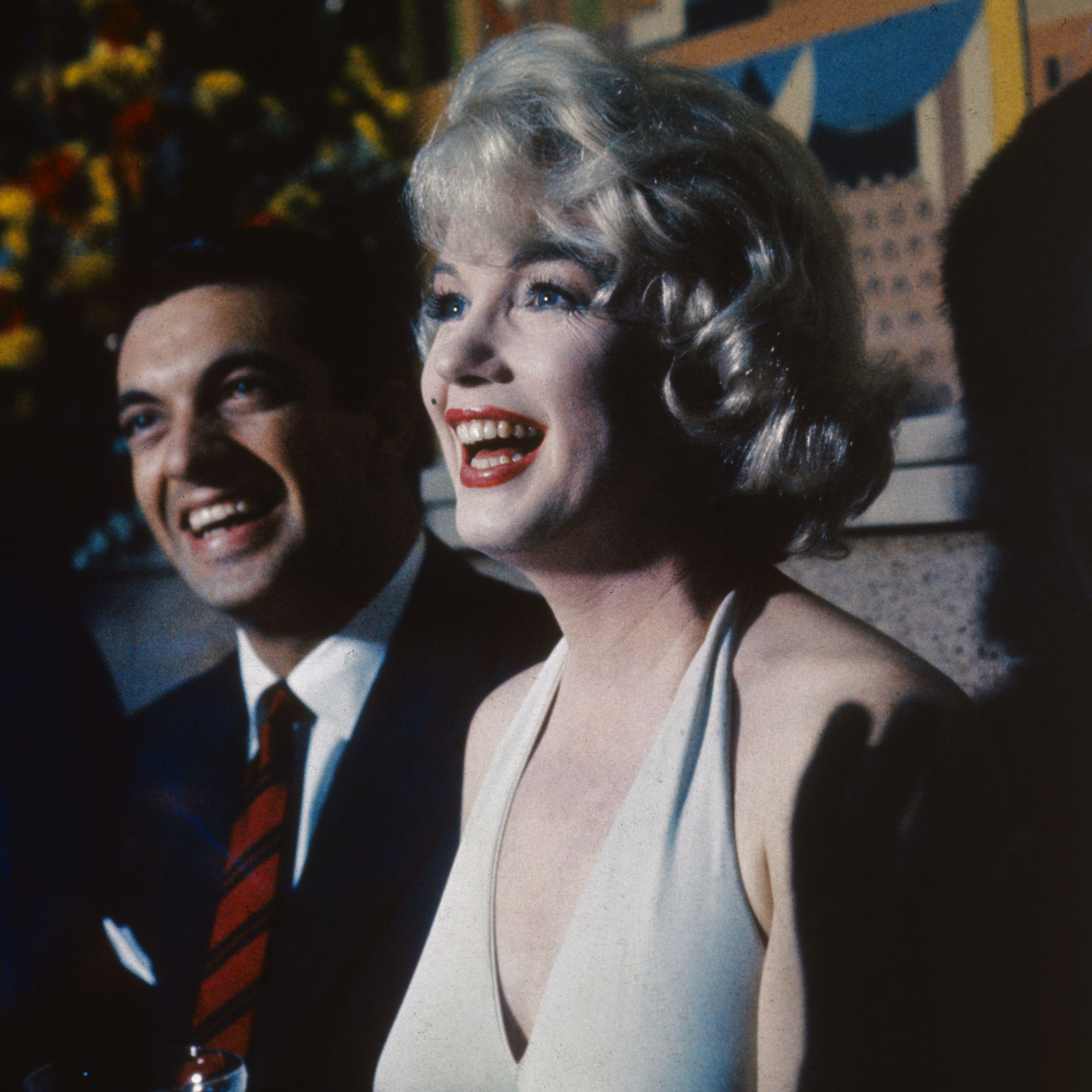 Marilyn Monroe, who starred in such classic films as The Seven Year Itch, Some Like It Hot and Let's Make Love (with Frankie Vaughan, pictured), remains a global beauty icon today, 50 years after her death.