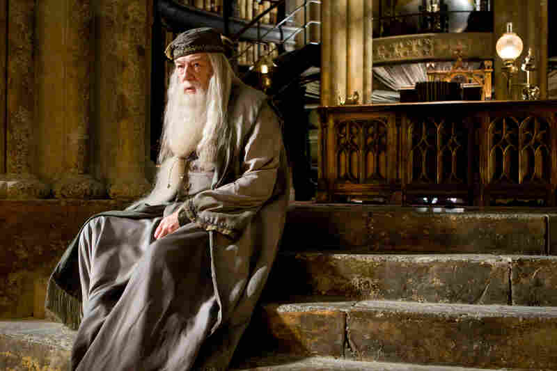 After Harris passed away, Michael Gambon played Dumbledore until the end of the series.