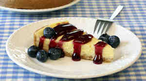 There's evidence the first Olympic athletes ate cheesecake, but it probably looked a lot different than this.