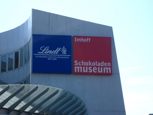 The Schokoladen museum, or chocolate museum in Cologne, Germany.