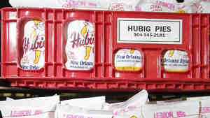 Fresh Hubig pies read for delivery in 2007.