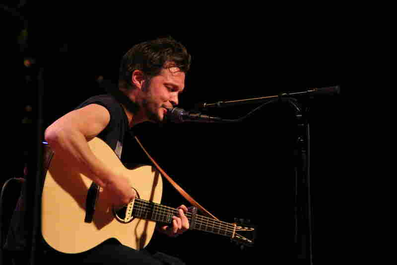 Kristian Matsson, a.k.a. The Tallest Man On Earth performs at World Cafe Live in Philadelphia.