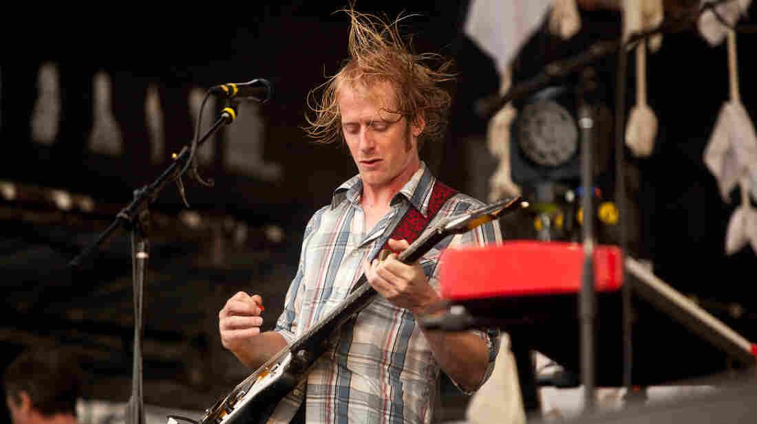 Blitzen Trapper performs at the Newport Folk Festival.