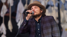 Jeff Tweedy of Wilco perfroms at the Newport Folk Festival.