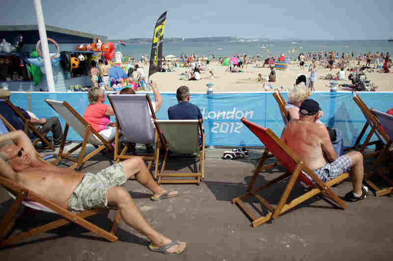 The seaside town of Weymouth, England, will host the Olympic sailing events.