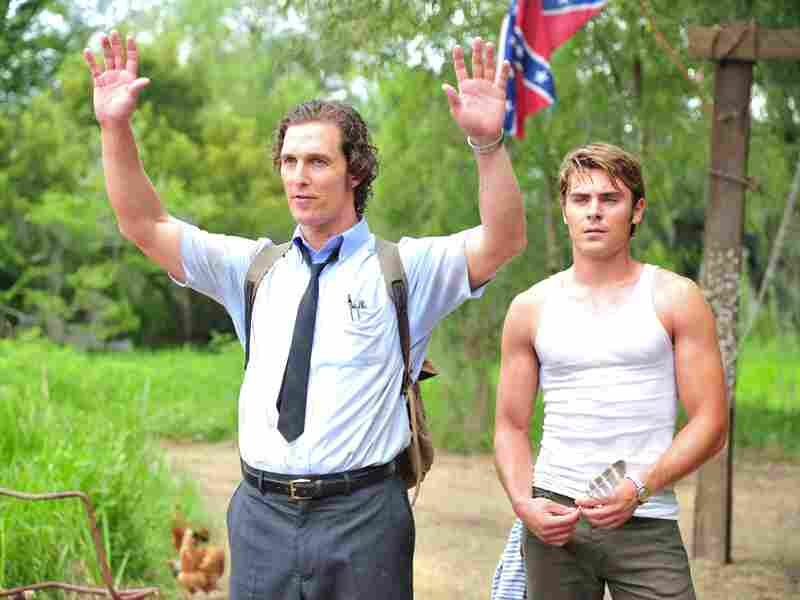 McConaughey and Zac Efron play brothers in Lee Daniels' 2012 film The Paperboy, based on a novel by Pete Dexter. The film played at this year's Cannes Film Festival.
