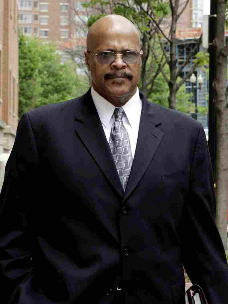 Vernon Jackson leaving the U.S. District Court in Alexandria, Va., in 2006. He later went to prison for three years on bribery charges.