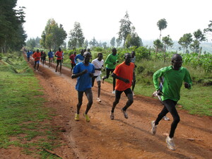 In Iten, Kenya, every day at 9 a.m. sharp, 200 or so runners — most of them unknowns hoping to become champions — train on the dirt roads surrounding the town.