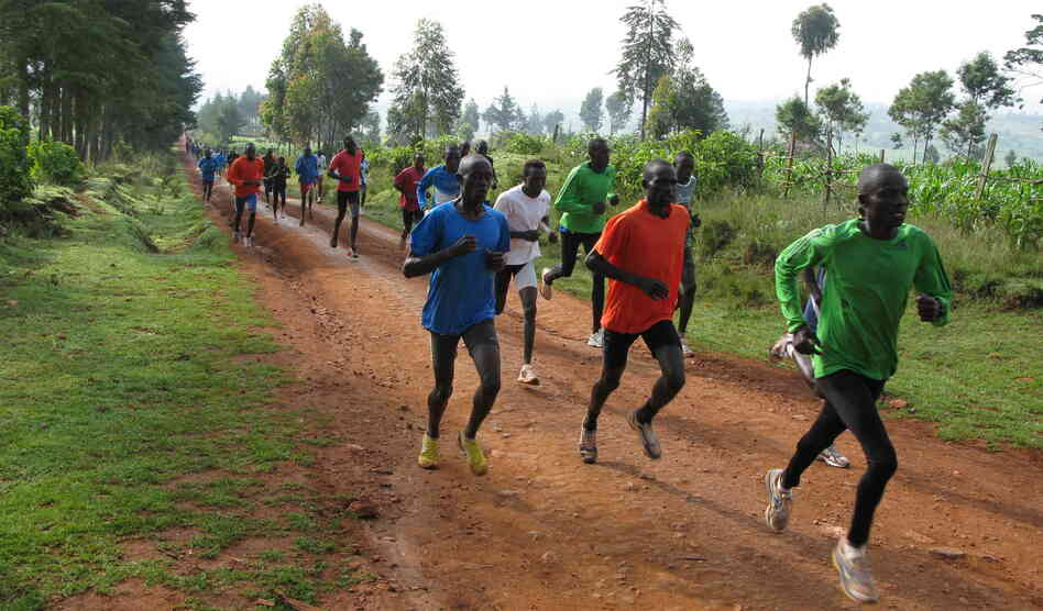 Every day at 9 a.m. sharp in Iten, Kenya, 200 or so runners — most of them unknowns hoping to become champions — train on the dirt roads surrounding the town.