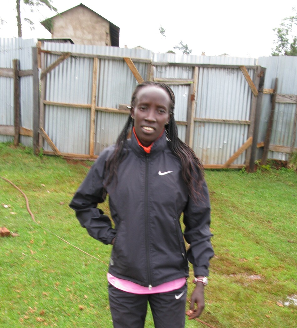 Hellen Kimutai grew up in a one-room hut and ran 6 kilometers each way — barefoot — back and forth to school. In March, she won the Rome City Marathon. (NPR)