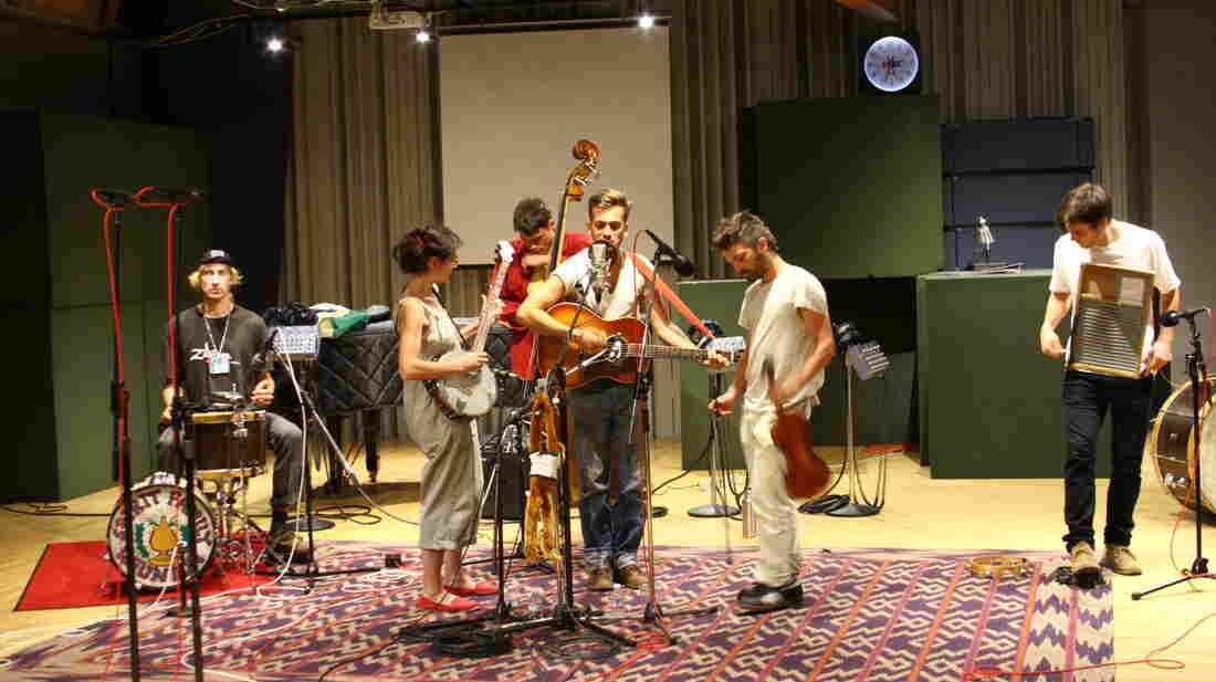 Spirit Family Reunion performs at NPR's headquarters in Washington, D.C.