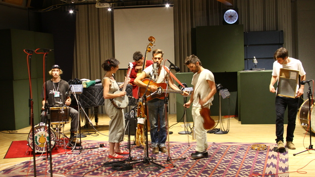 Spirit Family Reunion performs at NPR's headquarters in Washington, D.C. (NPR)