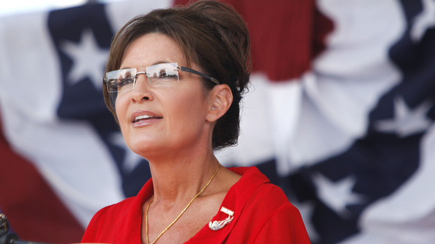 """""""I like Gov. Palin,"""" Cheney told ABC News in an excerpted interview on Sunday. But she wasn't ready to be vice president, he said. (Getty Images)"""