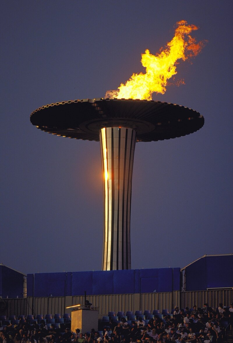 Olympic Flame Missed From London Skyline The Torch Npr