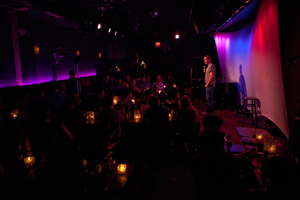 Lynch performs to a full house at the Metropolitan Room in Manhattan, N.Y. He says people all over the world want their friends and romantic partners to share their sense of humor.