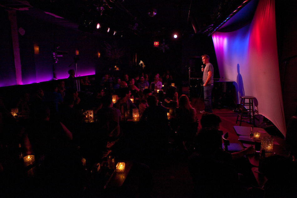 Lynch performs to a full house at the Metropolitan Room in Manhattan, N.Y. He says people all over the world want their friends and romantic partners to share their sense of humor. (NPR)