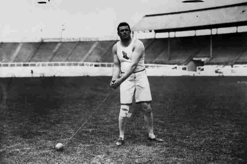 Matthew McGrath of the United States was the world record holder in the hammer throw event at the time, but finished second to fellow American John Flanagan. He won the event again at the 1912 Olympics in Stockholm.