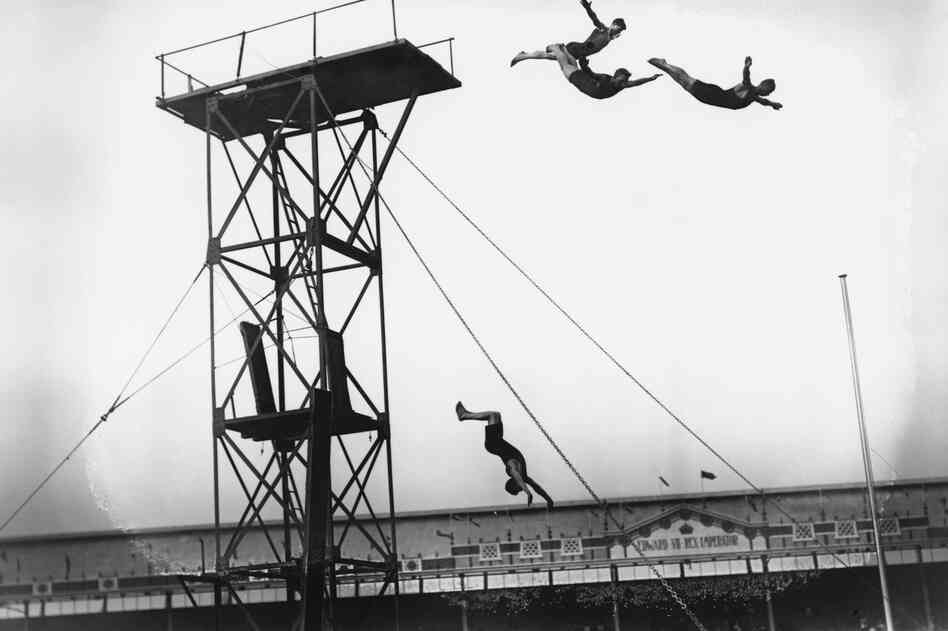Diving at the White City Stadium