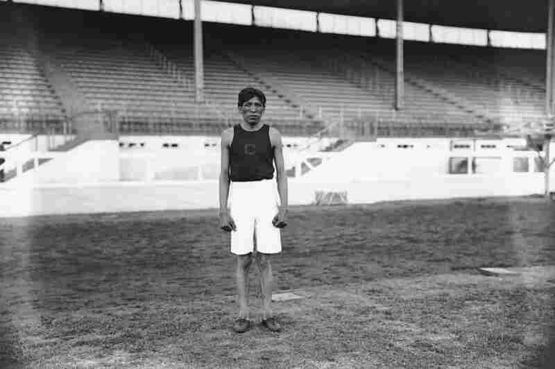 Two-time Olympic distance runner Lewis Tewanima was a Hopi American Indian