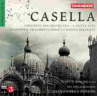 Cover art for Casella, orchestral music.