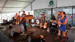 Blind Pilot performs at the 2012 Newport Folk Festival.