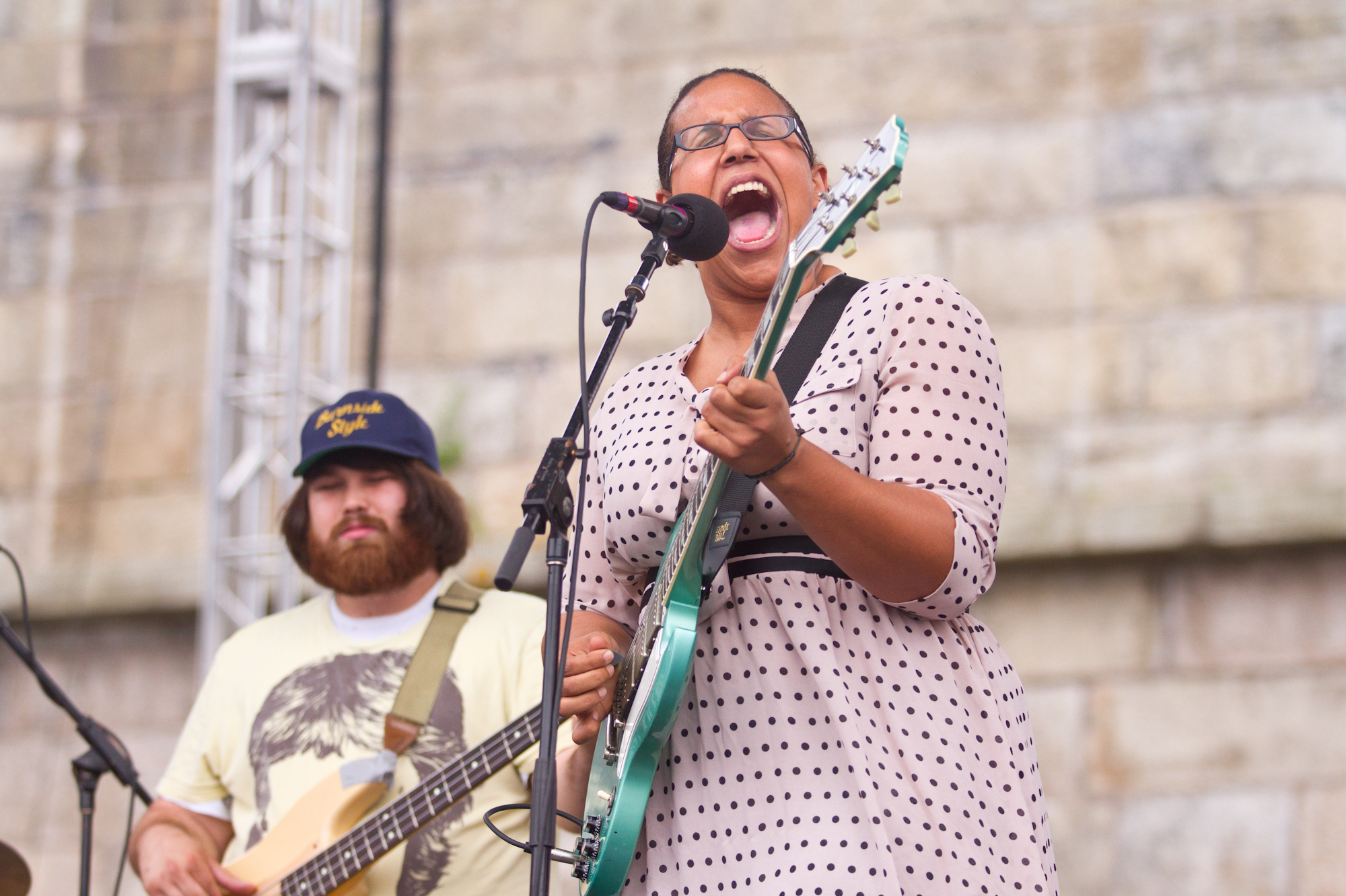 At Newport, Alabama Shakes' music reached ecstatic, rafter-shaking heights with singer Brittany Howard dominating the proceedings.