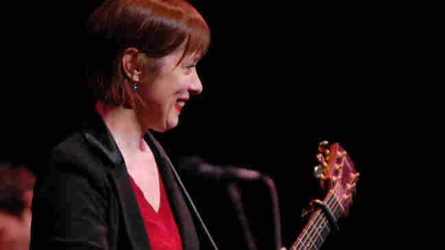 Suzanne Vega performs on Mountain Stage.