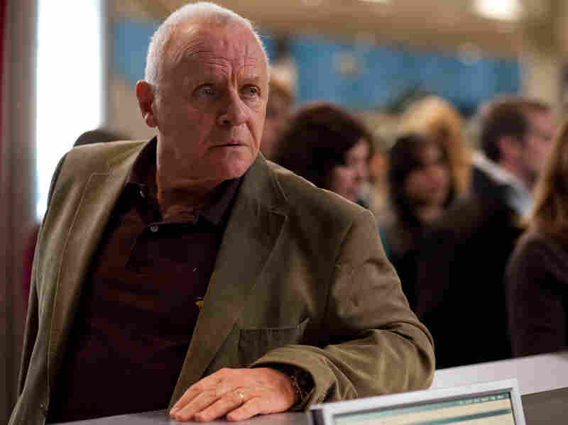 In another of the film's stories, Anthony Hopkins plays a man en route to Phoenix in search of his missing daughter.