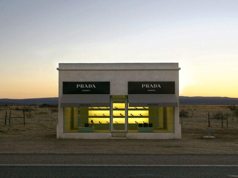 Marfa art installation — photo 2