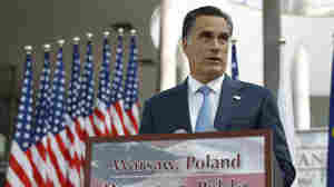 As Romney Heads Home, Campaign Steers Talk Back To Running Mate