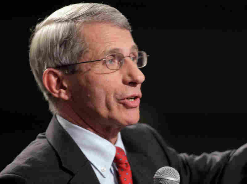 National Institute of Allergy and Infectious Diseases Director Dr. Anthony Fauci said a volunt