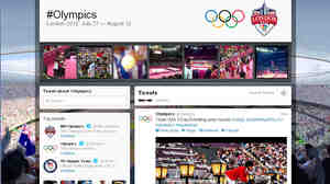 "The London Games have lived up to their hype as the first truly ""social"" Olympics. But social media like Twitter have also brought embarrassments, and even an arrest."
