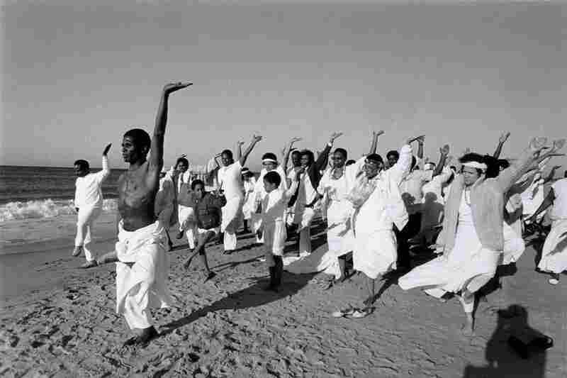Community Baptism, Baba Ishangi Leads Exercise, 1986