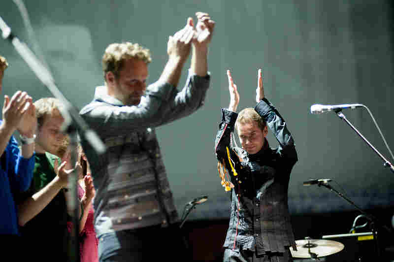 This is Sigur Ros' first tour in four years. The Brooklyn gig marked only the third stop on the tour's brief visit to North America.