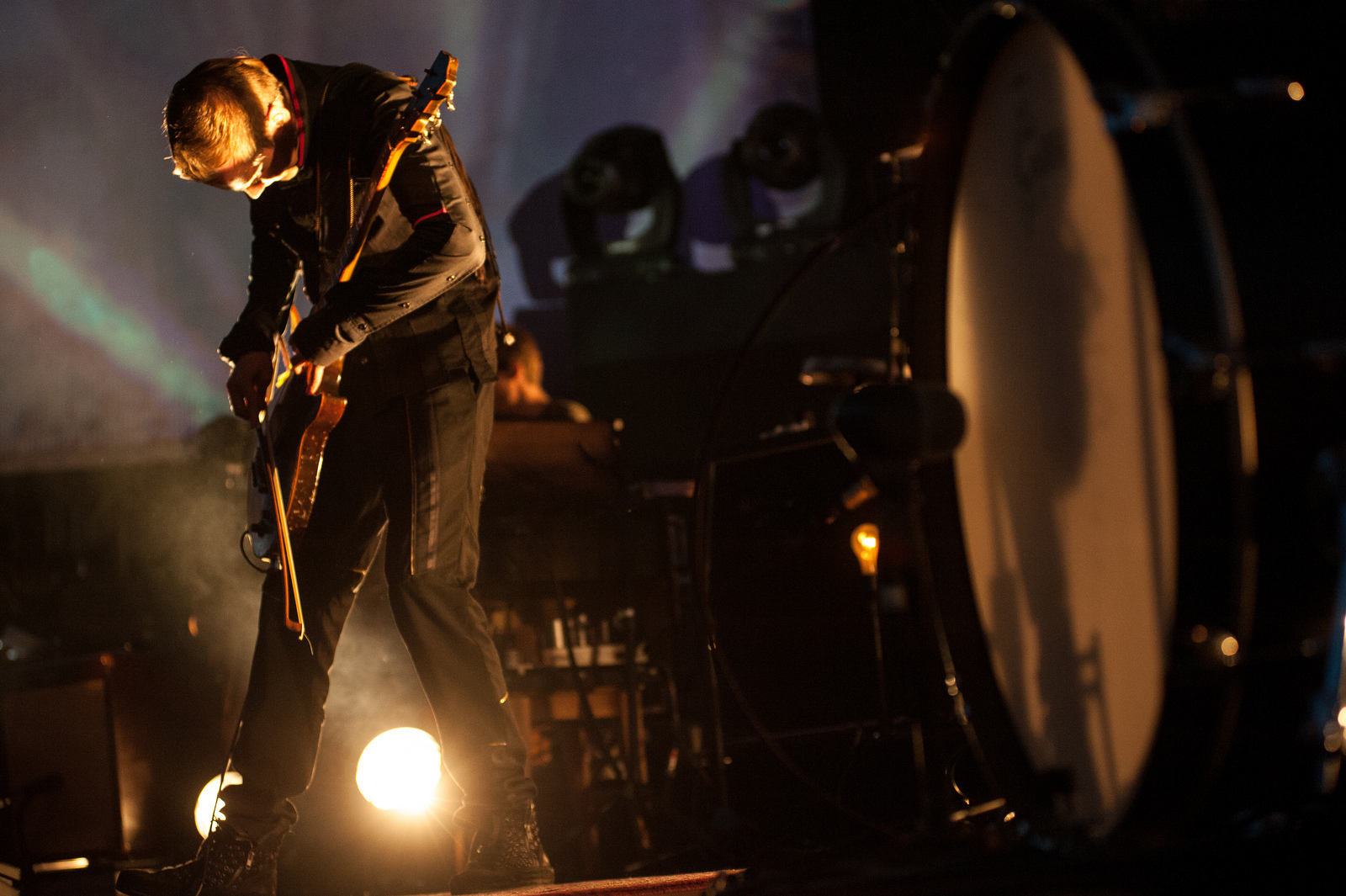 During Sigur Ros' four-year hiatus, Jonsi released the effervescent and uplifting 2010 solo album Go.