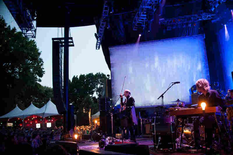 Sigur Ros performed as part of Celebrate Brooklyn, Brooklyn's longest-running free concert series.