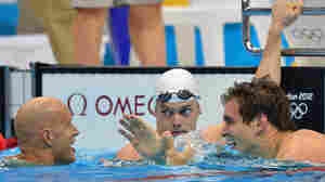 Nathan Adrian Takes Gold In 100m Freestyle, Defeating France's Agnel