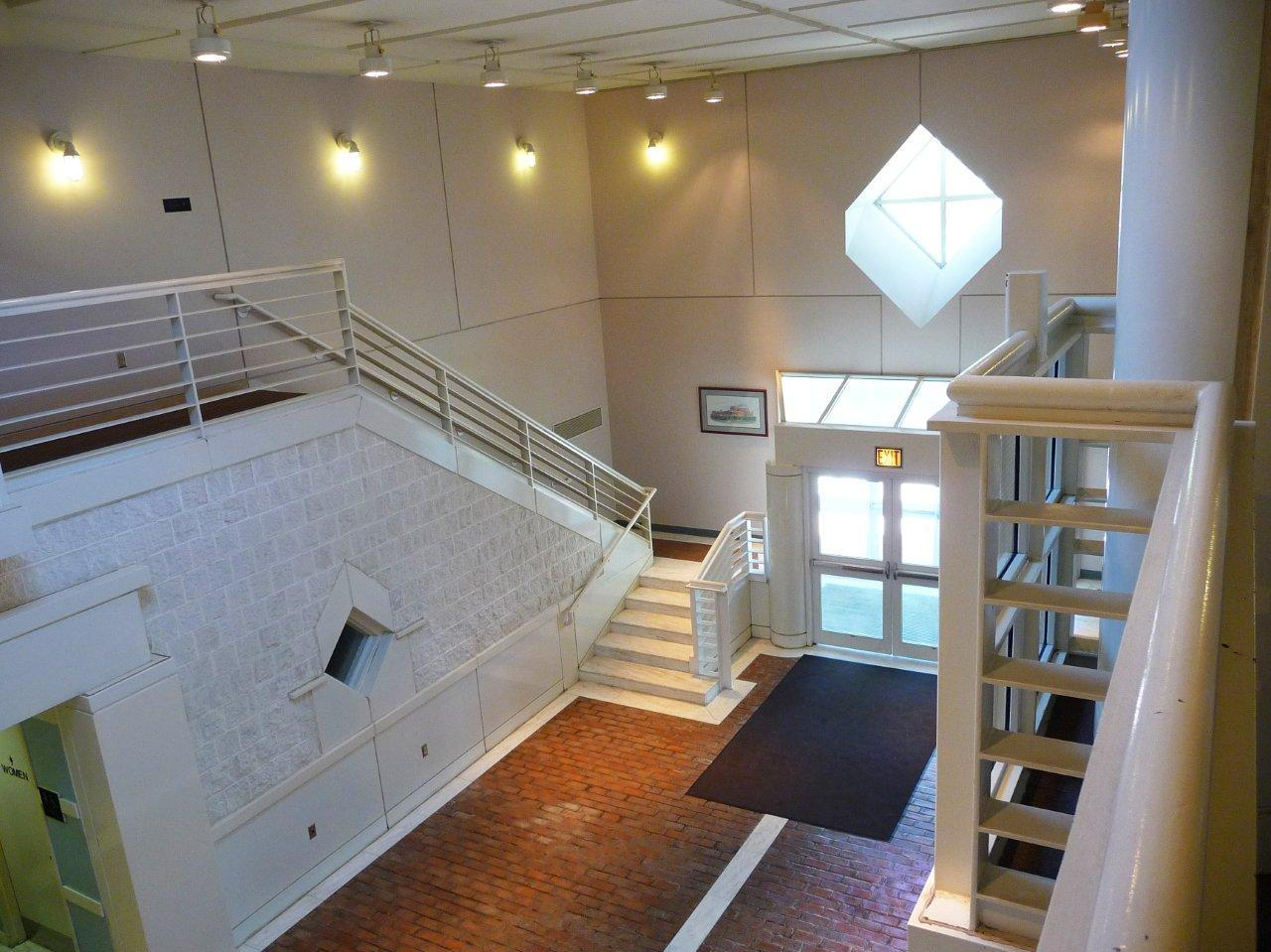Interior of the Bartholomew County Jail