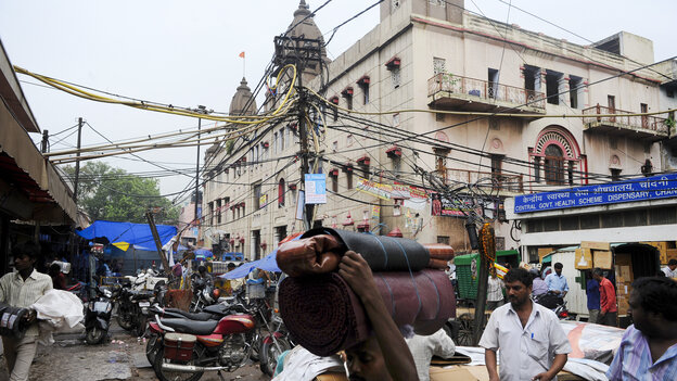 India's electric system is under constant stress and blackouts are common. Elliot Hannon was on the streets of New Delhi when power went out Tuesday, but he didn't realize there was an outage until later.