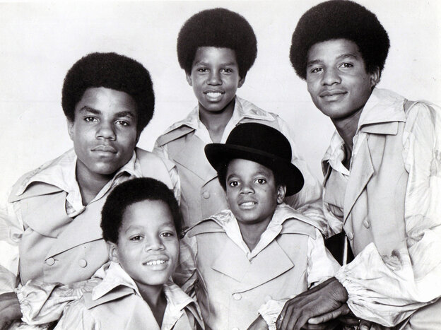 The Jackson 5 in a studio group portrait in 1969.