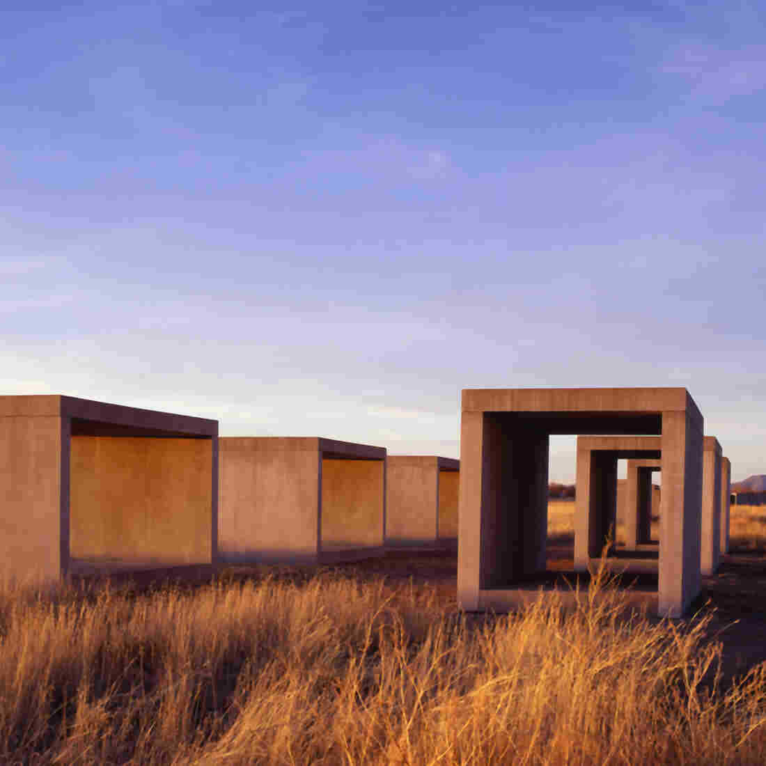 Marfa, Texas: An Unlikely Art Oasis In A Desert Town